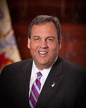 New Jersey Governor Chris Christie - STATE OF NEW JERSEY