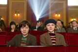 Asa Butterfield as Hugo and Chloe Moretz as Isabelle in Hugo.