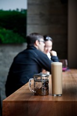 LORI EANES - At Asha Tea House in Berkeley, the milk tea is made with careful attention to flavor and sourcing.