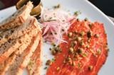 CHRIS DUFFEY - At Meridian, the pastrami is salmon.