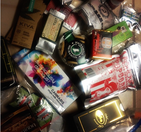 Could you eat your way through this bag of edible entries? - (VIA INSTAGRAM)