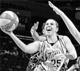 COURTESY OF SAN ANTONIO SILVER STARS - Becky Hammon didn't make the US Olympic team, so she will play for Russia, which got her branded as a traitor.