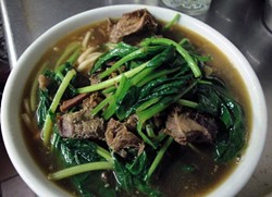 Beef noodle soup. - TAIWAN RESTAURANT
