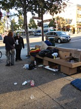 RACHEL SWAN - Berkeley has long had a reputation for being a haven for the homeless.