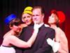 Bernard (Matt Davis) is a playboy who's wingin' it with three air hostesses (Laura Morgan, Jayme Catalano, and Rhonda Taylor).