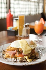 MELISSA BARNES - Best Belly-Busting Brunch: The Sunny Side Café.