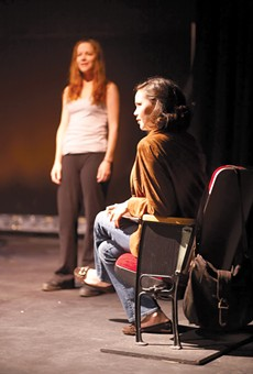 Beth Deitchman as Casey and Dekyi Ronge as Joby.