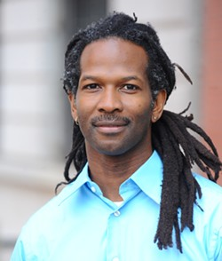 Columbia University associate professor and author of 'High Price', Carl Hart speaks Sunday in San Francisco. - CARL HART