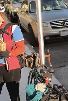 Bread by bike.