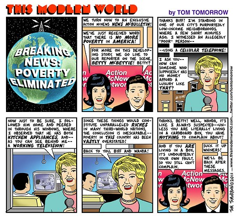 Breaking News: Poverty Eliminated
