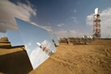 BRIGHTSOURCE ENERGY - BrightSource Energy's large-scale solar thermal test facility in Negev, Israel.