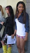 Britini, 18 (right), has Pussycat aspirations.