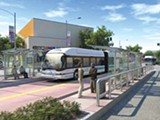 AC TRANSIT - Bus Rapid Transit originally was going to extend from downtown Berkeley to downtown San Leandro.