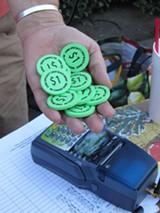 CARLE BRINKMAN - CalFresh recipients typically get a dollar-for-dollar match.