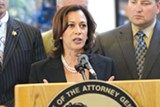 California Attorney General Kamala Harris touted the $18 billion settlement with banks in 2012.