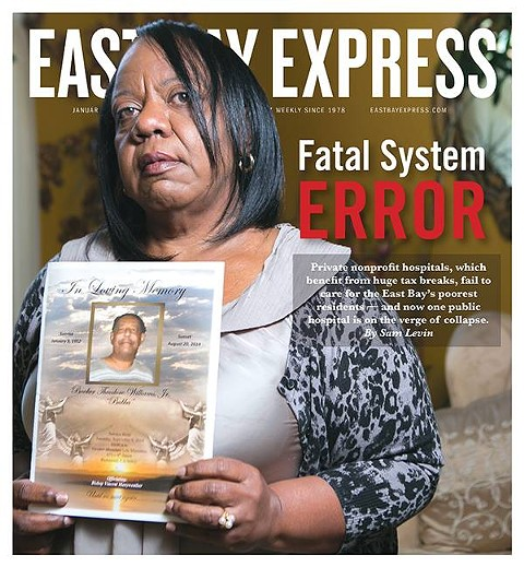 Express cover, 1/7/15. - PHOTO BY BERT JOHNSON