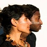 "ETHAN PARSONAGE - Candi Martinez and Cecil Carthen co-host the new monthly event ""Skin."""