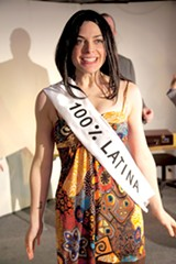 CHESHIRE ISAACS - Carlye Pollack in Learn to Be Latina.