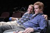 Carter (Peter Ruocco, left) is the strongest character in <i>Fat Pig.</i>