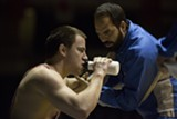 Channing Tatum and Mark Ruffalo in the bizarre thriller Foxcatcher.