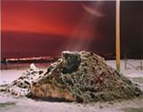 "Charles Byrne's ""Snow Pile, Parker CO."""