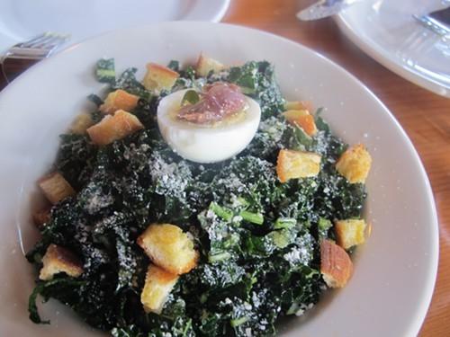Chef Ciammettis kale salad