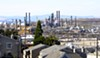 Chevron's Richmond refinery is one of the largest producers of greenhouse gases in the state.