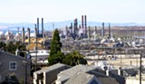 MAYA SUGARMAN - Chevron's Richmond refinery is one of the largest producers of greenhouse gases in the state.