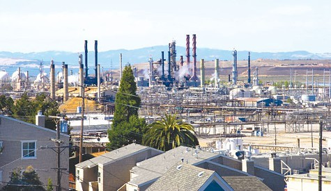 Chevrons Richmond Refinery.