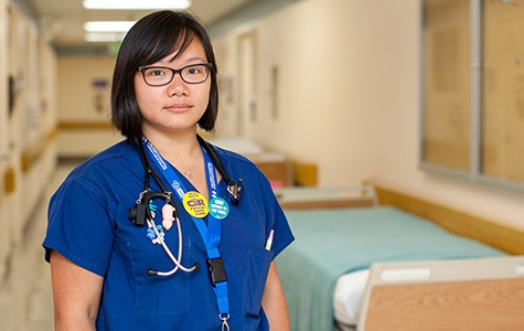 Ana Liang, third-year resident physician. - BERT JOHNSON / FILE PHOTO