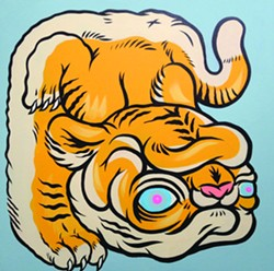 """Chubby Ass Tiger"" by Boy Kong"