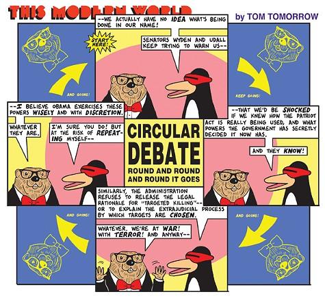 Circular Debate