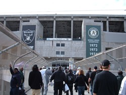 A majority of Oaklanders in a recently conducted poll, 60 percent, support cutting city spending on efforts to recruit and keep professional sports teams. - BROKENSPHERE, WIKIMEDIA COMMONS