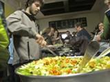 JESSE HIRSCH - CoFED's vegan dinner.