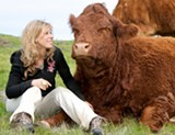 Colleen Patrick-Goudreau said her love of animals initially drew her to veganism.
