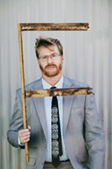 MANDEE JOHNSON - Comedian Kurt Braunohler.