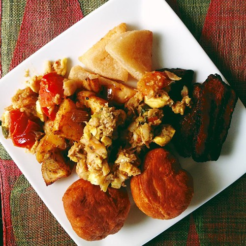 Coming soon to Uptown: ackee and saltfish at Kingston 11 (via Facebook).