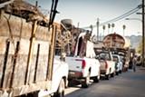 STEPHEN LOEWINSOHN - Custom Alloy Scrap Sales processes scrap metal at its West Oakland facility.