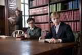 Daniel Radcliffe stars as Allen Ginsberg and Dane DeHaan stars as Lucien Carr in Kill Your Darlings.