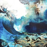 "Detail from ""Tsunami"" by Chris Trueman."
