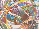 "Detail of Emanuela Iuliana Harris-Sintamarian's ""Panta Rei."""