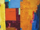"Detail of Hans Hofmann's ""Equinox."""