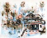 "Detail of Max Kauffman's ""Alameda."""