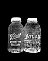 """Detail of Susannah Hays' """"Empty Bottle No. 6."""""""