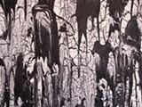 "Detail of Victor Cohen Stuart's ""Volcano."""