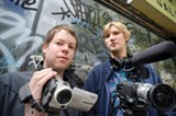 CHRIS DUFFEY - Documentary filmmakers Nate Wollman and Max Good caught the Silver Buff in the act.