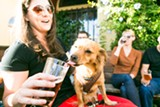 STEPHEN LOEWINSOHN - Dogs and humans can drink outside at Oakland's Beer Rev.