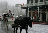 TED DRAKE/FLICKR (CC) - Downtown Nevada City transforms into Victorian Christmas in December.