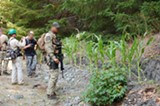 COURTESY OF MOURAD GABRIEL - Drug War enforcers are increasingly pointing to the dangers of trespass grows to gain support among  environmentalists for the War on Pot.