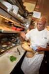 Eddie Blyden is a world-class chef and Slow-Food enthusiast who helms Henry's at Hotel Durant.